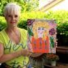 Tangerino Woman Painting