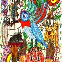 The Halloween Bird Of Paradise & Friends