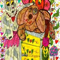We Love You Doodle Art