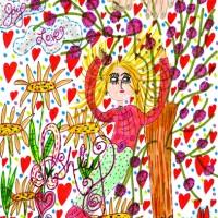 Ashley's Return Home To Heaven – Poem & Doodle Art