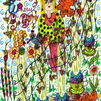 Make Wine Tea Howe Island B&B Doodle Art