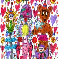 60th Birthday Doodle Art