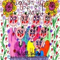 The Lighten Up Team – Wild Apricots Doodle Art