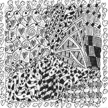 Entanglement Zentangle