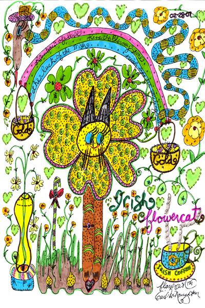 Irish Flowercat