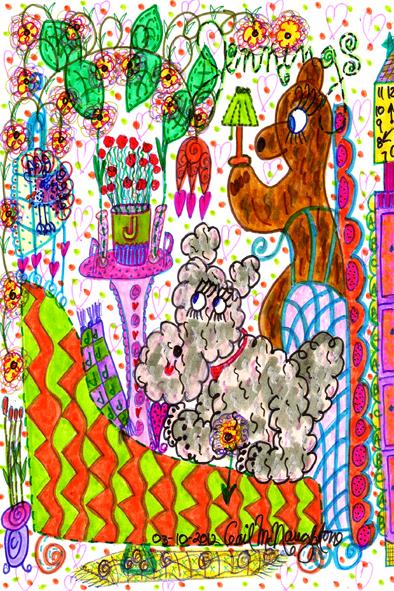 Jennings Doodle Art