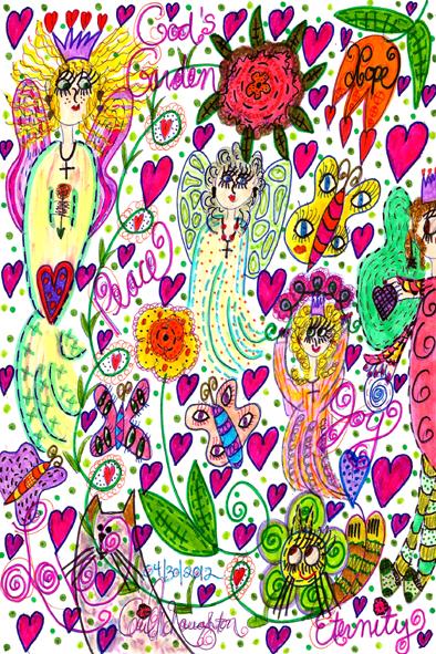 God's Garden Of Hope, Peace, Joy & Love