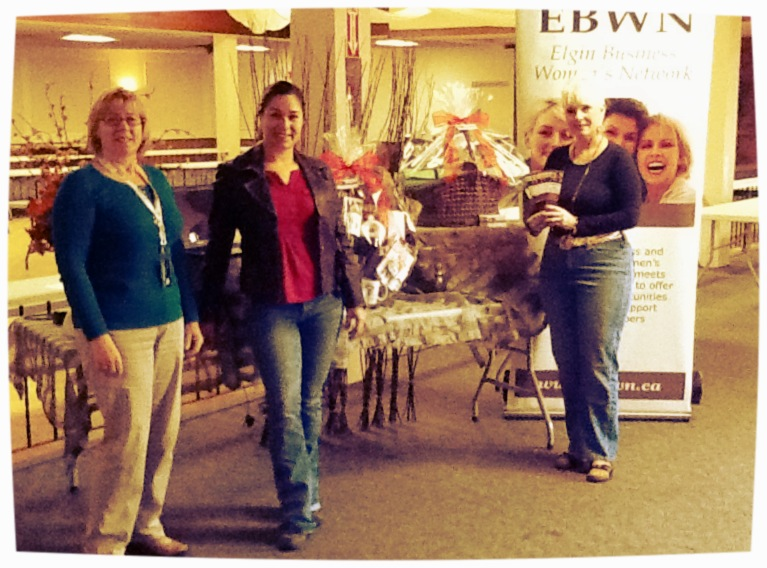 EBWN at The Business Sample Show on October 17, 2012