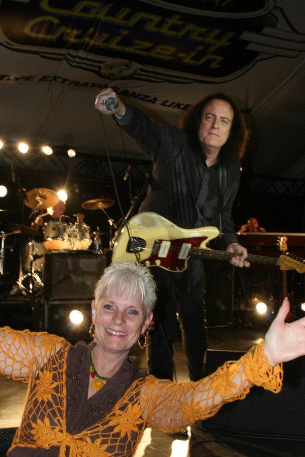 Fabian and Bobby Rydell at Fleetwood Country Cruizin