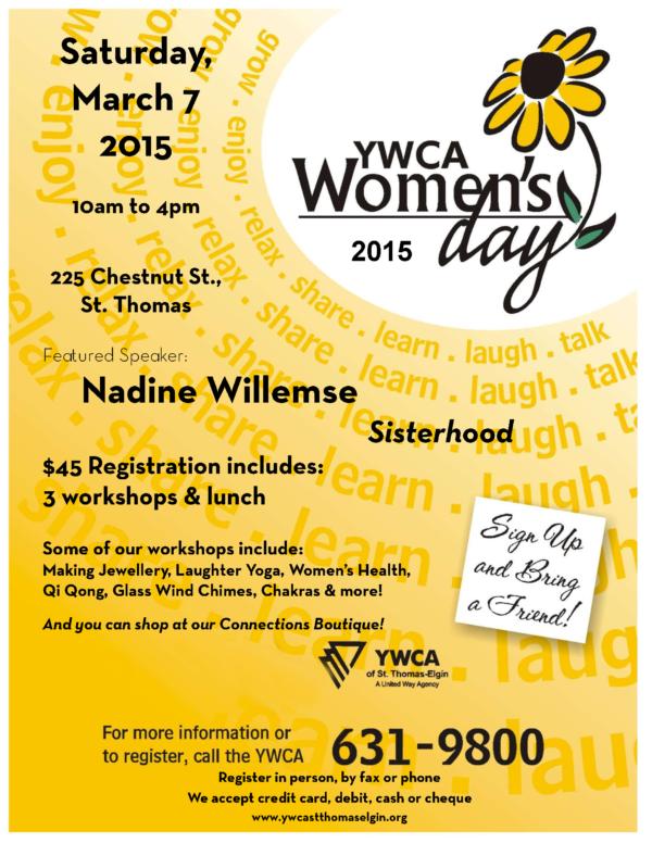 YWCA Women's Day Event 2015